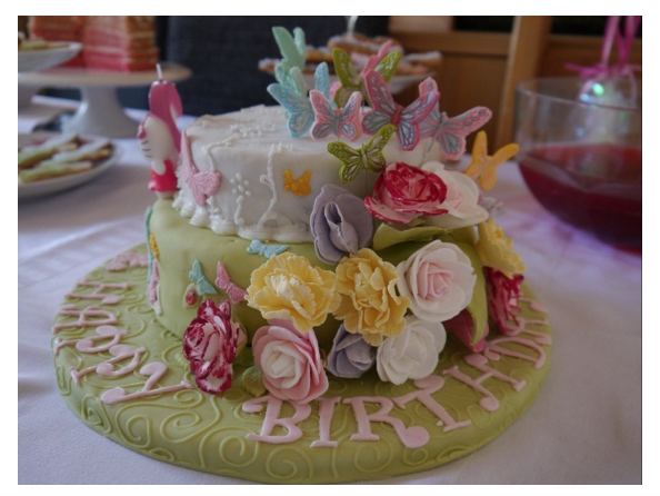 You Can Order This Birthday Cake For Your Little Girl From An Online Shop